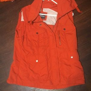 Orange Eddie Bauer Vest